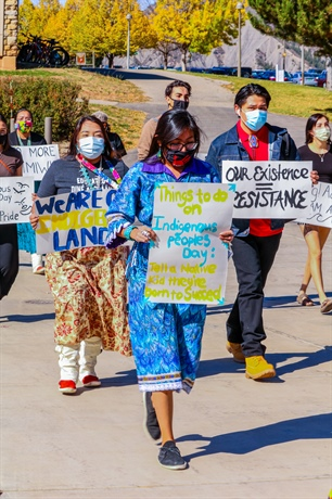 "Native Students Feel Silenced: FLC's regulation of student feed questioned aft er students posted in support of ""white culture"" on Indigenous People's Day"